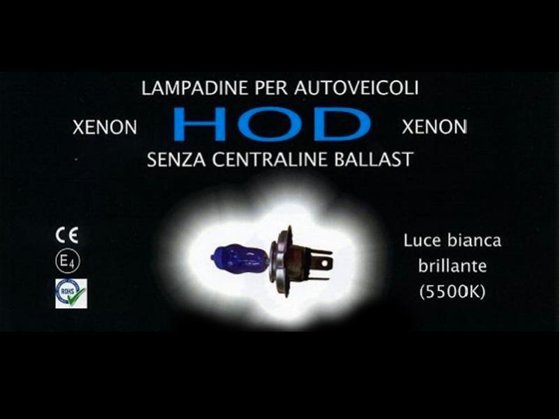 LAMPADINE XENON automotive a tecnologia HOD